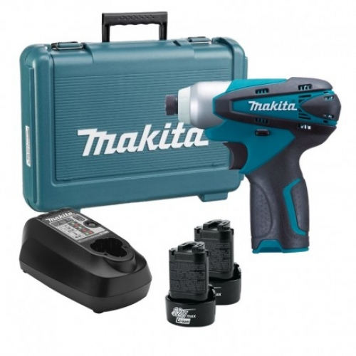 Atornillador Impacto Inalámbrico 90 Nm Makita TD090DWE