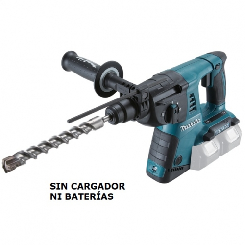 Rotomartillo 26mm Inalámbrico 36v Makita DHR263Z Sds-plus