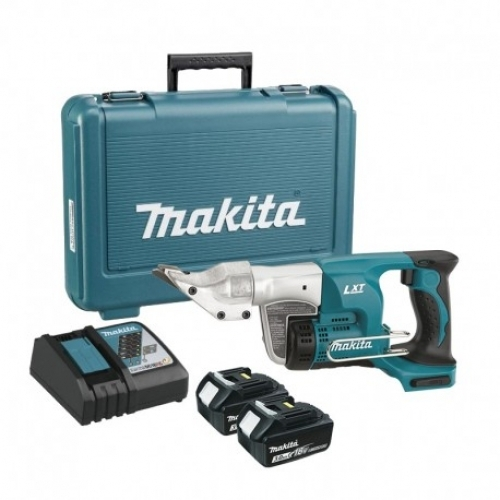Cizalla Recta 1.3mm Inalámbrica 18V Makita DJS130RFE