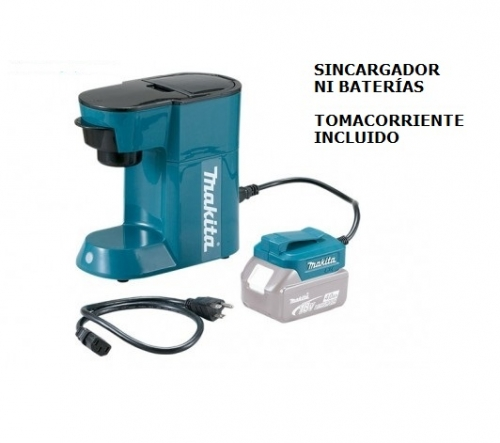 Cafetera Inalámbrica Makita DCM500Z