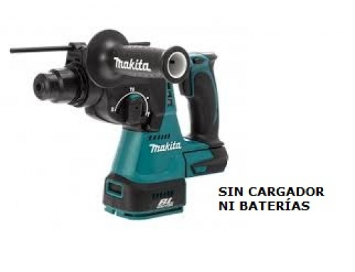 Rotomartillo 24mm Inalámbrico 18V Makita DHR242Z SDS-PLUS