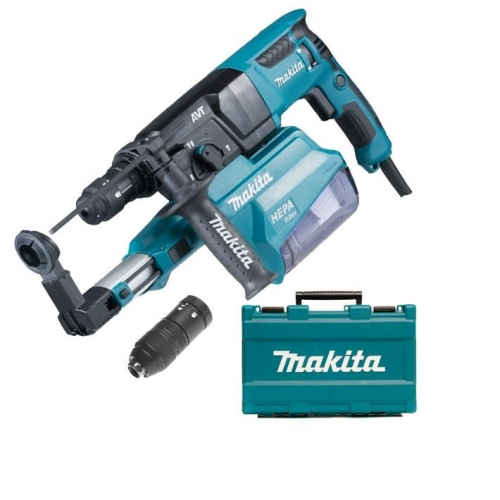 Rotomartillo Autoaspirante 26mm Makita 800W HR2651T SDS-PLUS