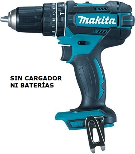 Taladro Atornillador Percutor 18V Makita 62 Nm DHP482Z