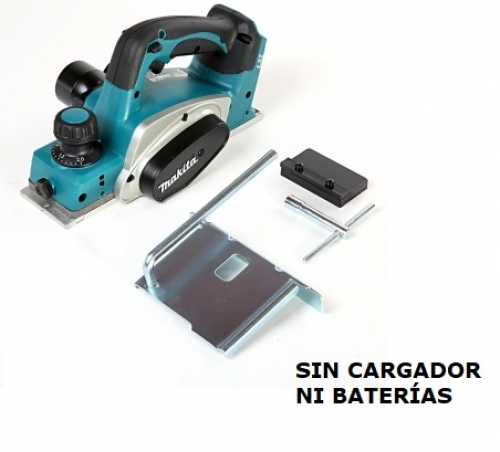 Cepillo 82mm Inalámbrico 18V Makita DKP180Z