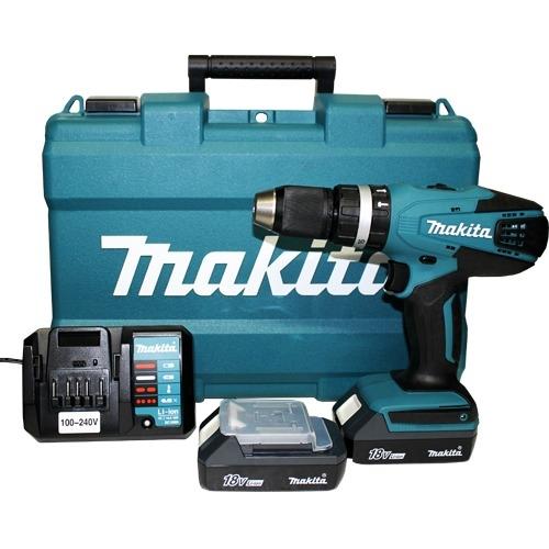 Taladro Atornillador Percutor 18v Makita 13mm HP457DWE