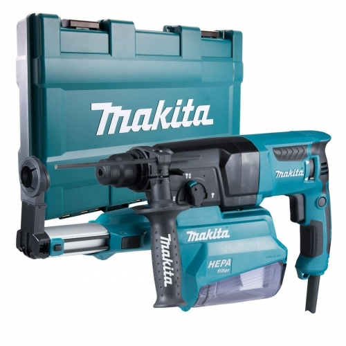 Rotomartillo Autoaspirante 26mm Makita 800W HR2650 SDS-PLUS
