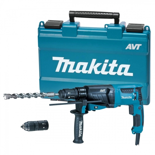 Rotomartillo Mandril Rápido 26mm Makita 800W HR2631FT