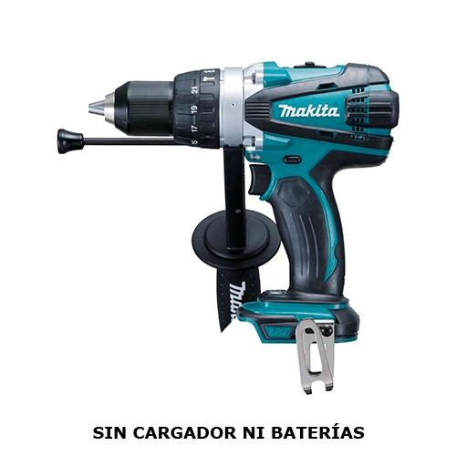 Taladro Atornillador Percutor 91 Nm 18V Makita DHP458Z